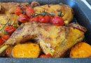 Pollo asado estilo Provenza